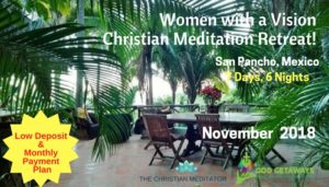 women with a vision christian meditation retreat
