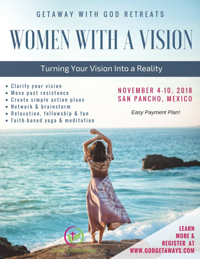 women with vision christian meditation retreat