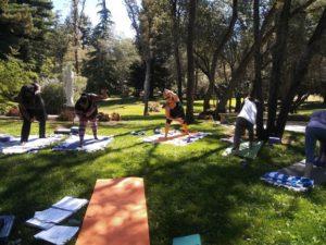christian yoga retreat california