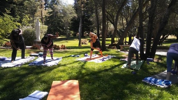 christian yoga retreat california
