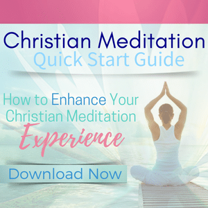 Christian meditation quick start guide